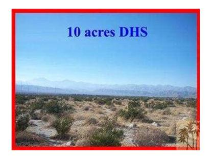 0 10 ACRES OFF LITTLE MORONGO