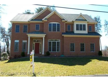 9393 WEIRICH RD Fairfax, VA 22032 MLS# FX8081139